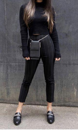 Effie Kats tailored pinstripe pants xxs/6
