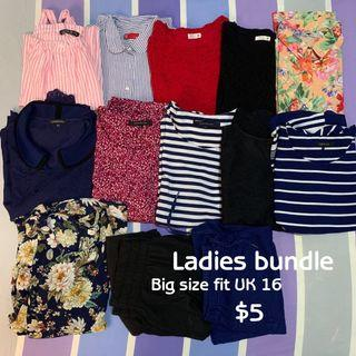 Big size tops bundle