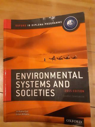 oxford iB diploma programme Enviromental system and societies 2015 edition