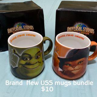 Brand New USS mugs bundle
