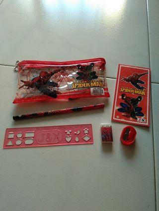 🚚 Spider-man stationery set