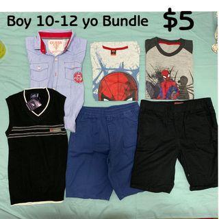 🚚 Boy 10-12yo bundle