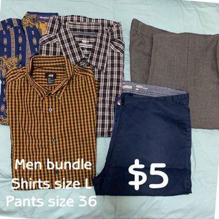 Men clothes bundle
