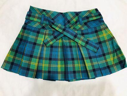 Tartan skirt 格仔短裙