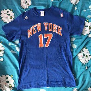 NBA Adidas New York Jeremy Lin Tee