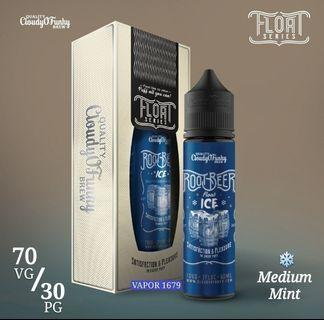 100% Original Cloudy O Funky Root Beer Float Ice 60ml E-juice