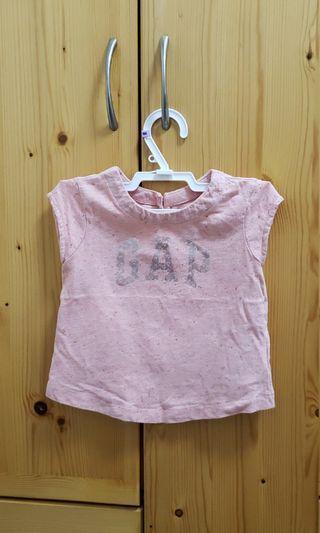 BabyGap 18-24m bb女嬰幼兒短袖衫