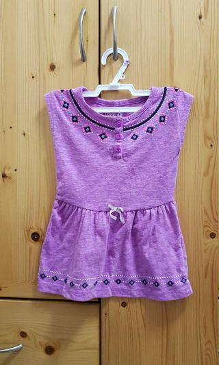 Oshkosh 24m/2years兩歲幼兒女童 連身裙/長身短袖衫