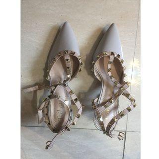 $80 全新 女裝鞋 Shoes 淺灰色 零跟-01 36碼