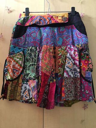 Rok celana Batik thailand