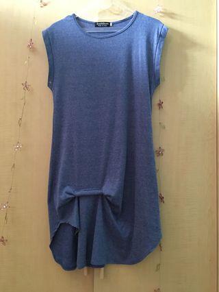 Mididress blue