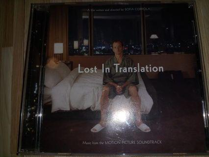 Lost In translation OST CD