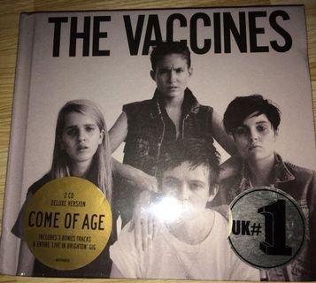 (全新)Vaccine Come As Age 2CD