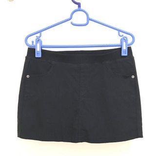 彈性伸縮褲頭 修身褲裙