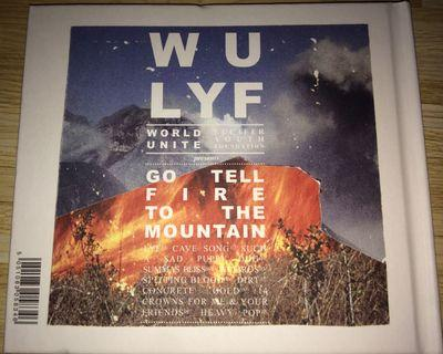 Wu Lfy Go Tell Fire to the Mountain CD