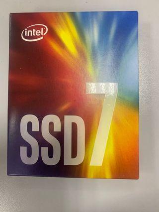 Intel 760p 256 G SSD