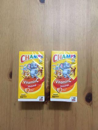 Champs Vitamin C Orange Flavour