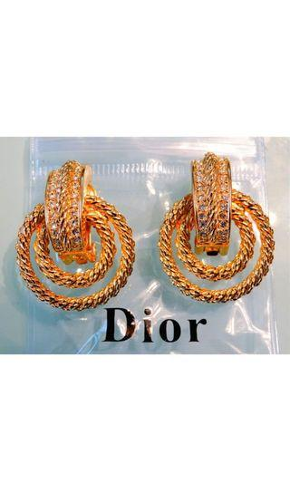 🚚 Christain Dior 耳環