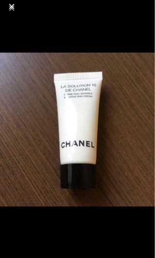 🚚 Chanel La Solution 10 Sensitive Skin Cream Travel-sized Tube