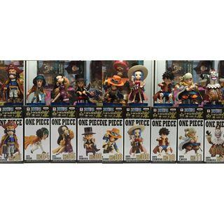 [Discount Fire Sale] One Piece World Collectable Figure WCF Dazzling Vol.1 & 2 (9 Figures)
