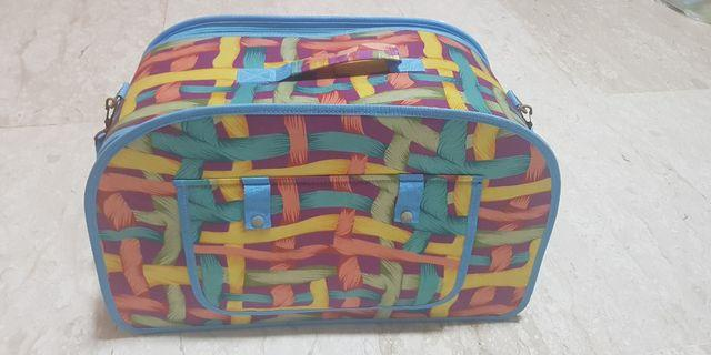 Transport bag for small breed dog or cat