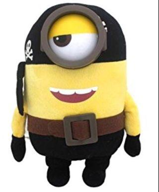 Minions Plush - Stuart Pirate