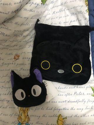 🚚 小魔女-黑貓束口袋&零錢包