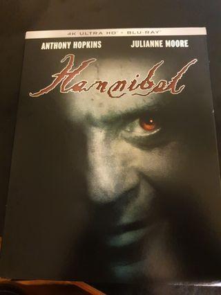 Hannibal 4k UHD + blu-ray movie