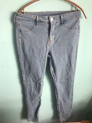 H&M Light Blue Denim Jeans
