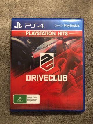 PlayStation 4 Game Drive Club