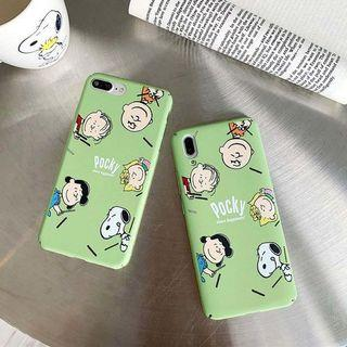 Cartoon Snoopy Iphone Case