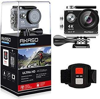 4.3 out of 5 stars  9,076Reviews  AKASO EK7000 4K WiFi Sports Action Camera