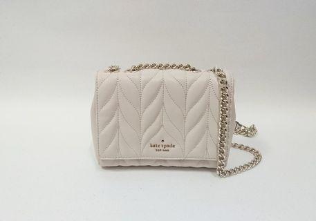 🚚 【現貨】Kate Spade 小羊皮鏈條 斜背/側背包