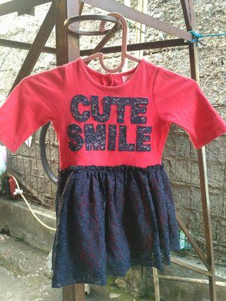 Dress cute smile