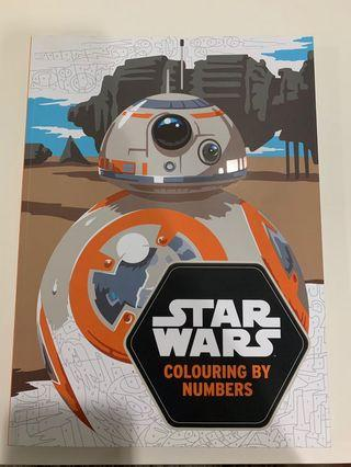 Star Wars Colouring by Numbers