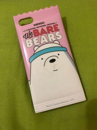 MINISO IPHONE 6/6s CASE WE BARE BEARS