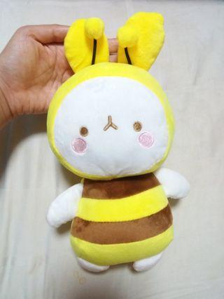 New Cute Yellow Bee Plush