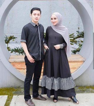 COUPLE SET FASHION MUSLIM