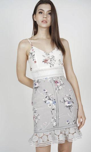 🚚 MDS Brandnew Lindea Ruffled Hem dress