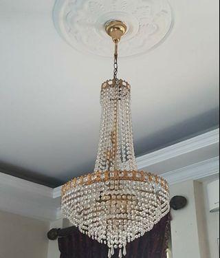 Lampu Hias gantung kristal Bohemia Ceko