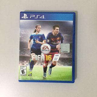 PS4 Game: FIFA 2016