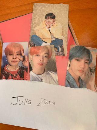 WTT BTS Persona photocards and postcard