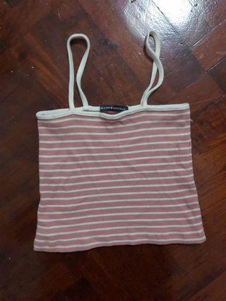 🚚 Brandy Melville Pink Strappy Top