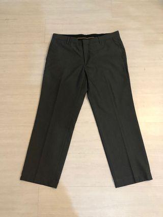 Dark grey slacks (men)