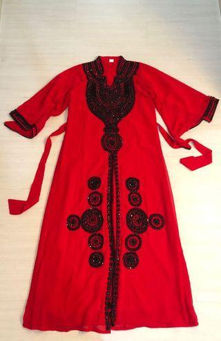 Jubah (Red Abaya)