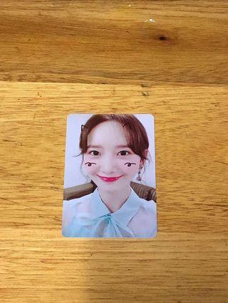 [WTS] Snsd Yoona So Wonderful Fanmeeting Photocard