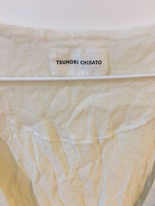 Tsumori Chisato 70%cotton 30% angora Top size 2
