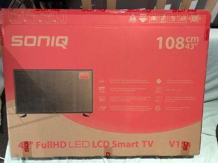 """SONIQ 43"""" Full LED LCD Smart TV"""