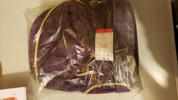 紫色迷彩背包