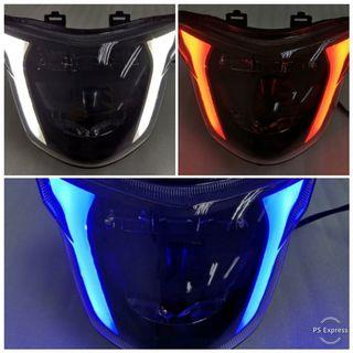 Sniper V1/ Y15 Smoked headlight